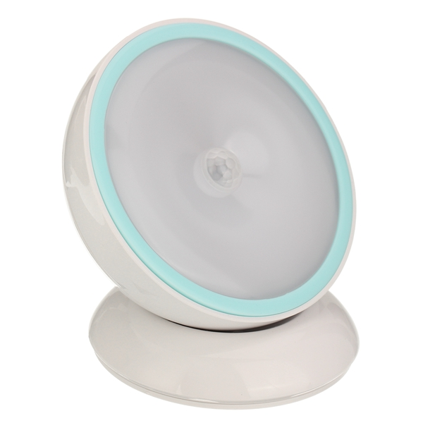 0.5W Rotation PIR Motion Sensor LED Night Light USB Rechargeable Table Wall Lamp