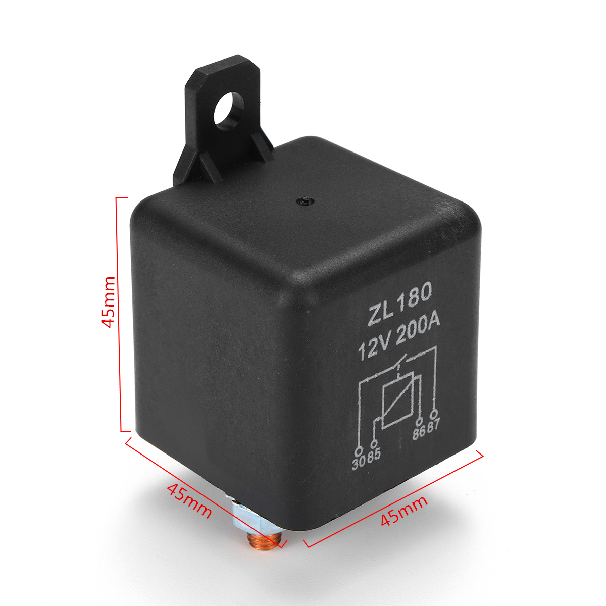 12V 200A Heavy Duty Split Charge Starter Relay Car Truck Boat Van with Teminal