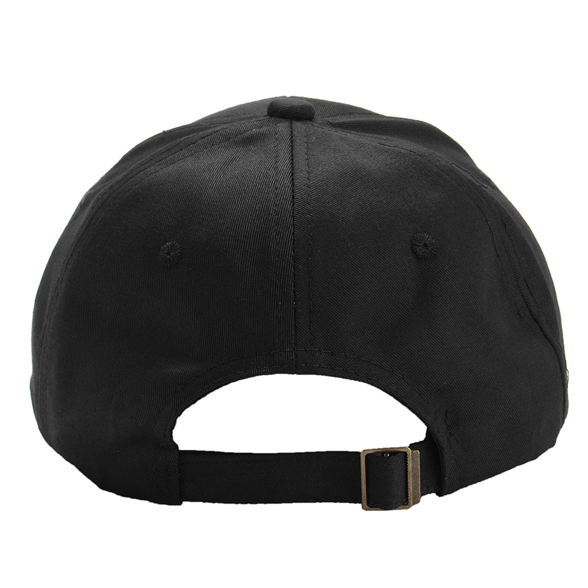 Men Women Moon Black Cotton Baseball Cap Adjustable Hip-hop Sport Hat