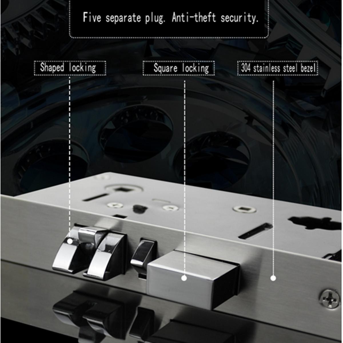 Stainless Steel Intelligent RFID Lock Digital Card Key Hotel Door Lock System