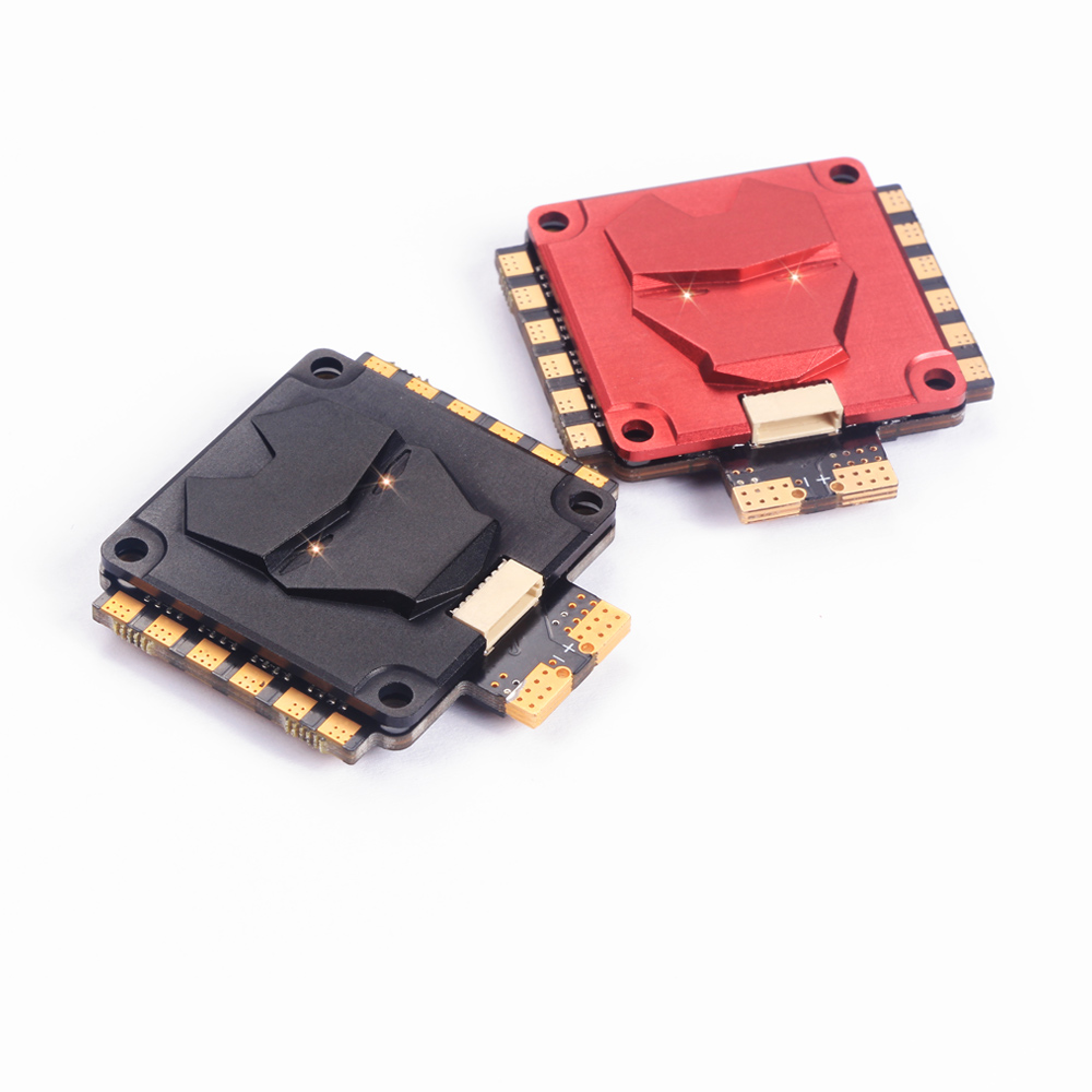 Racerstar Metal 60A Blheli_32 3-8S 4 IN 1 Brushless ESC w/ Current sensor DShot1200 CNC IP65 Waterproof 24g for RC Drone