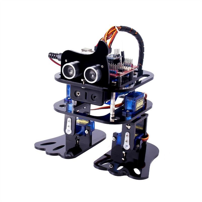 SunFounder DIY 4DOF Robot Kit Program Learning Kit for Arduino Nano