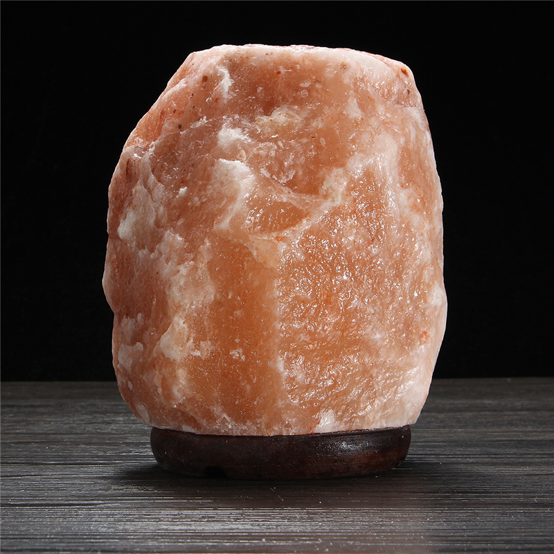 20 X 16CM Himalayan Glow Hand Carved Natural Crystal Salt Night Lamp Table Light With Dimmer Switch