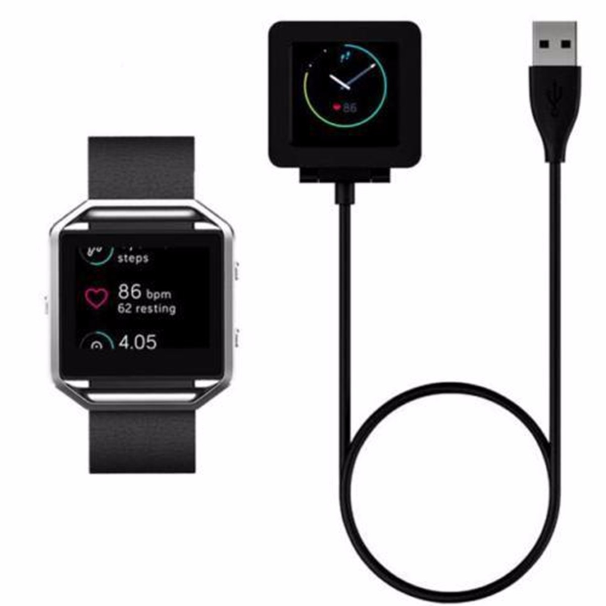 Magnetic USB Heart Rate Watch Charging Cable For Fitbit Blaze Watch Bracelet