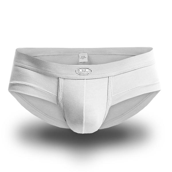 Men Modal Breathable U Convex Pure Color Underwear Soft Sexy Brief
