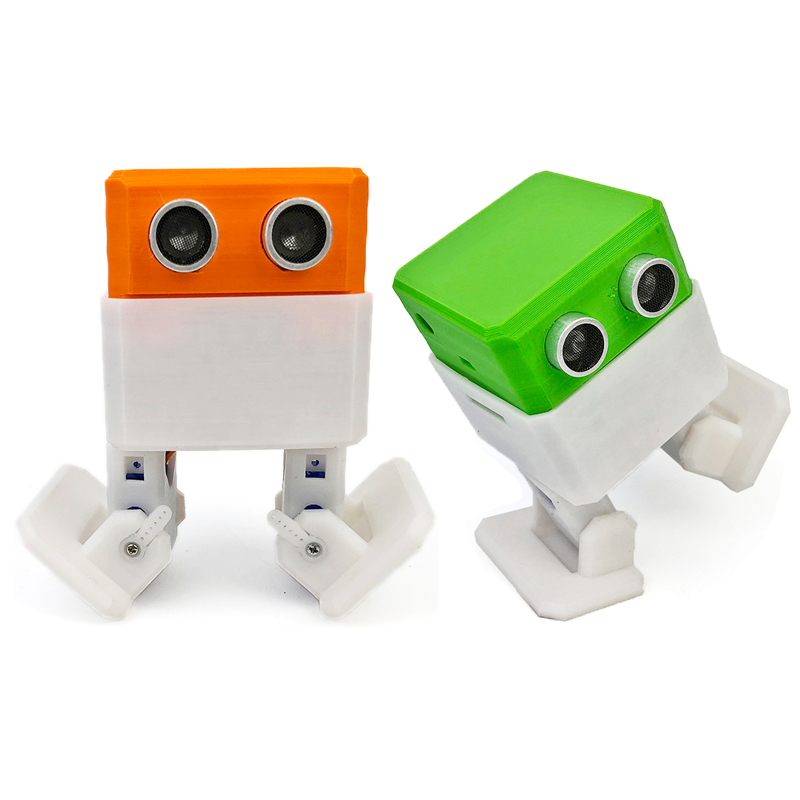 OTTO Arduino Nano RC Robot Open Source Maker Obstacle Avoidance DIY Humanity Playmate 3D Toys
