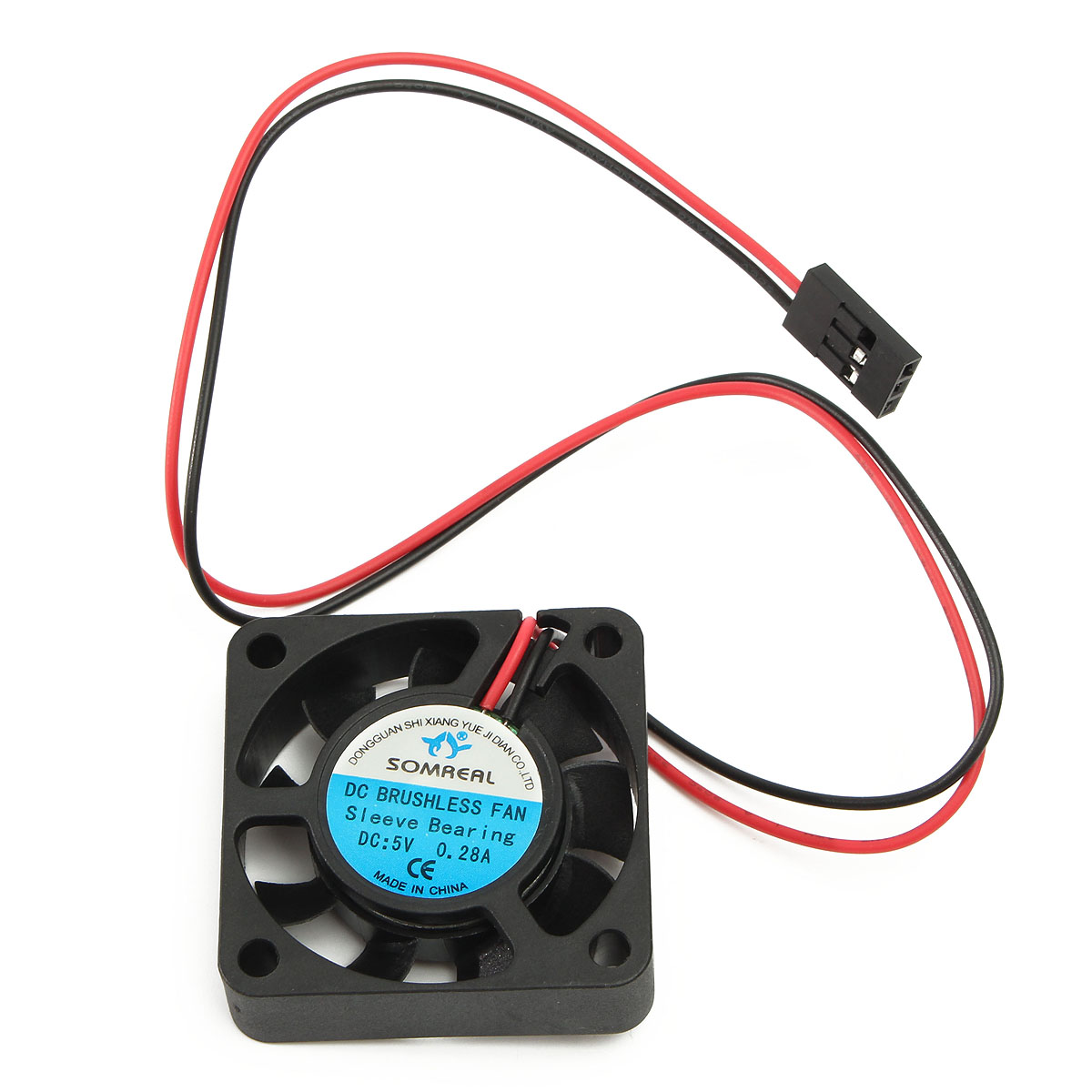 Hobbywing 5V-7V 150A DC Cooling Fan For RC Model Motor ESC 25/30/40mm Power Transfer
