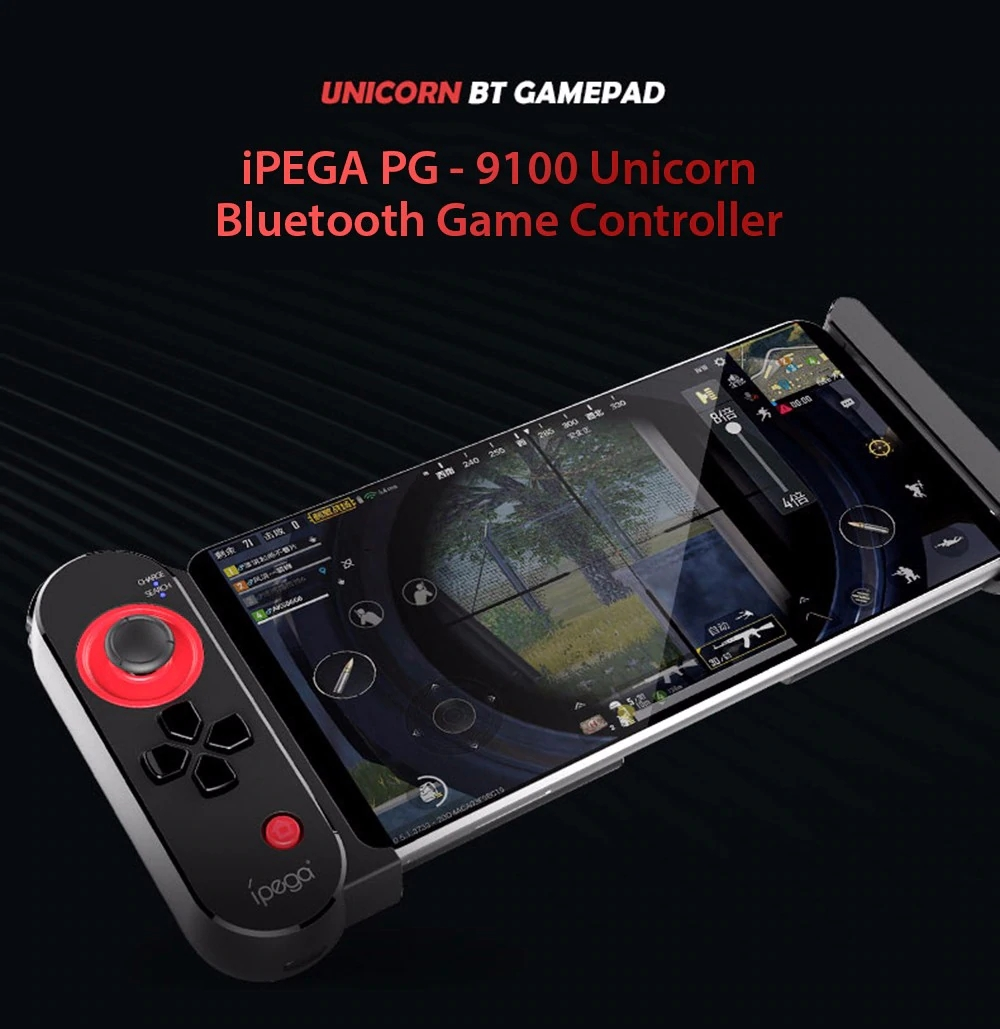 PEGA PG-9100 One-Sided bluetooth Game Controller Gamepad Joystick fot Mobile Phone