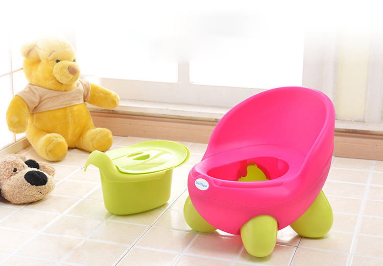 Vvcare BC-TP1 Kids Toilet Potty Removable Toilet Training Girls Boys Bathroom Defecate Trainer