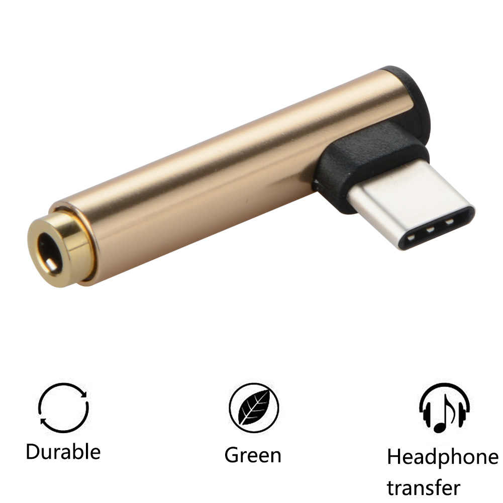 Bakeey USB Type C To 3.5mm AUX Audio Jack Cable Converter Type C USB-C To 3.5mm Adapter for Xiaomi 6
