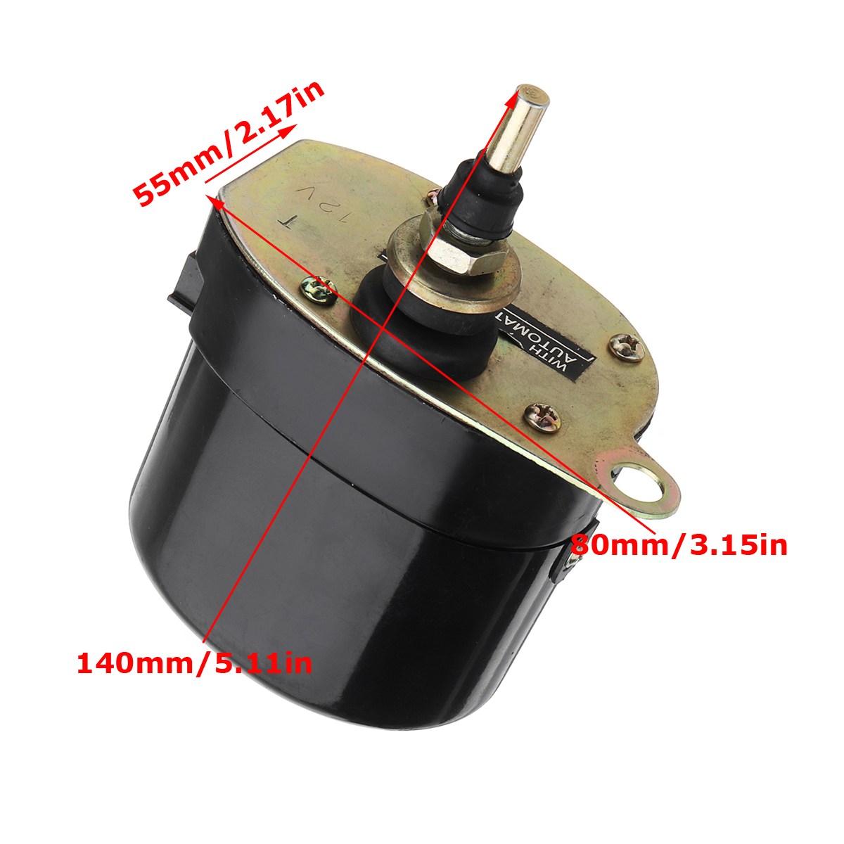 Universal 12V Windscreen Wiper Motor For Willys Jeep Tractor