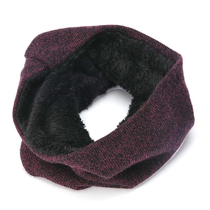 Men Women Winter Knit Hat Scarf Gloves Set