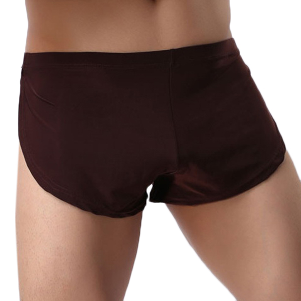 Mens Arrow Shorts Casual Sexy Sport Home Low Waist Loose Comfortable Solid Color Boxers