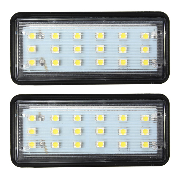 2x Error Free LED SMD License Plate Light For Toyota Land Cruiser,Lexus GX LX470