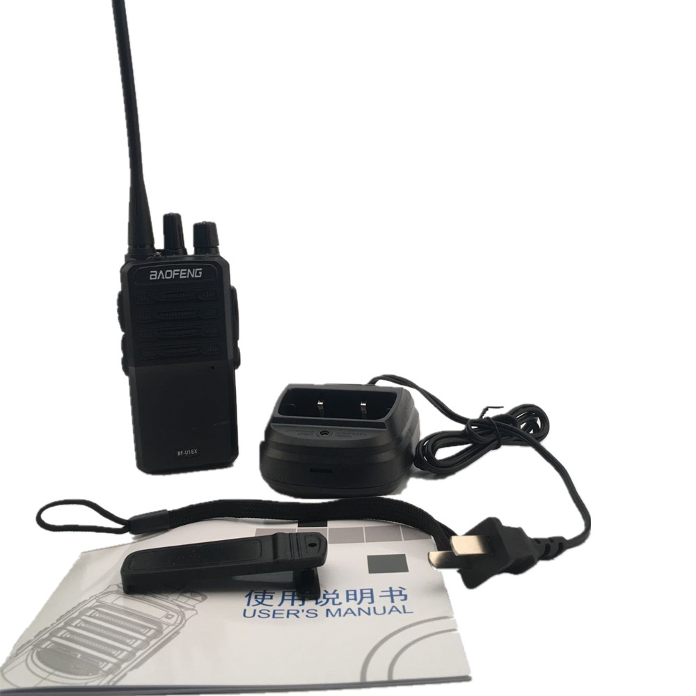 BAOFENG UE1X Mini Walkie Talkie 400-470MHz 16 Channels 3.7V For Hotel Civilian