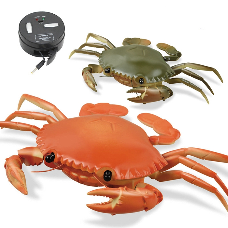 LE YU Infrared Remote Control Crab Simulation RC Animal Toy 9995
