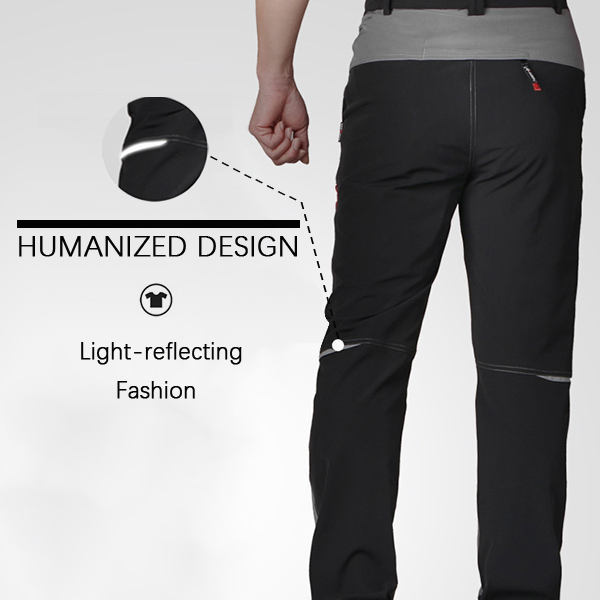 Outdoor Waterproof High Elastic Climbing Trousers Mens Ultra Thin Breathable Cool Dry Sport Pants
