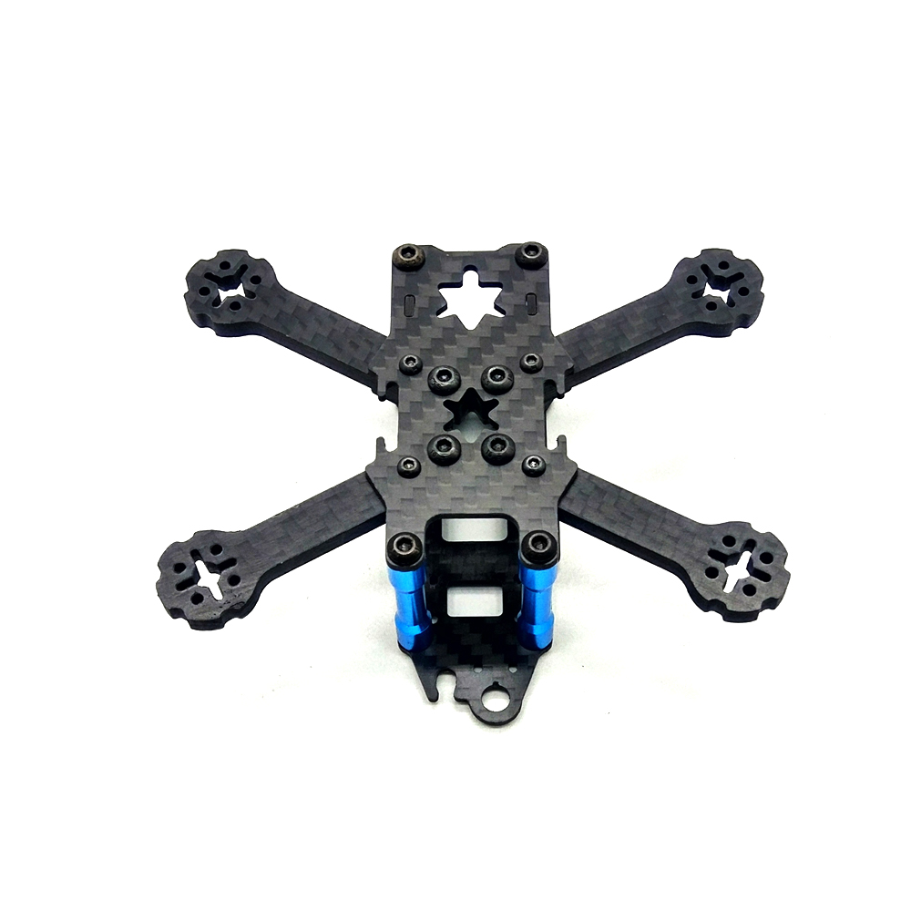 ArRuissi F100QX 100mm FPV Racing Frame Normal X Freestyle Frame Kit 4mm Arm Carbon Fiber