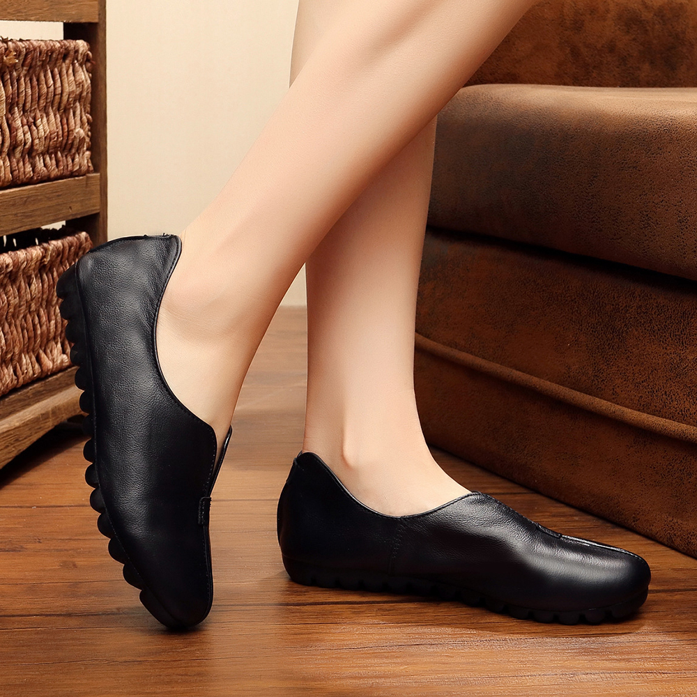 Women Loafers Soft Slip On Casual Flats Shoes