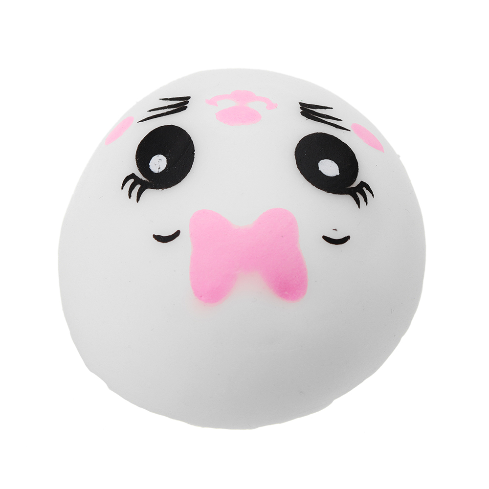 Mochi Squishy Smile Doll Squeeze Cute Healing Toy Kawaii Collection Stress Reliever Gift Decor