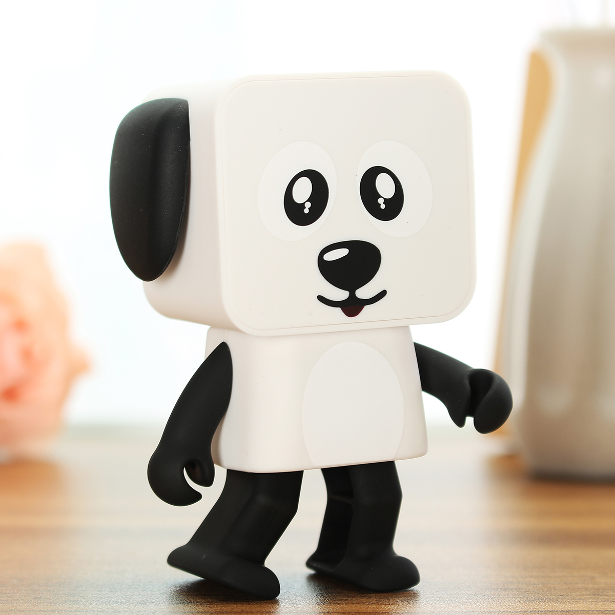 Multifunctional Wireless Bluetooth Speaker Portable Kids Toys Gifts Music Robot Danding Dog Speaker