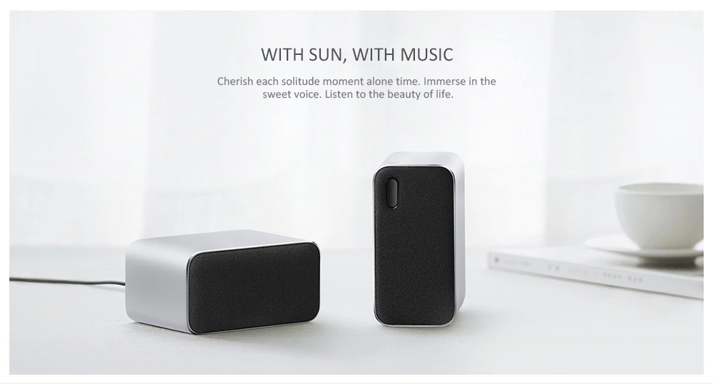 Xiaomi 2PCS HiFi Wireless Bluetooth Computer Speaker DSP Lossless Audio Stereo Speakers with Mic
