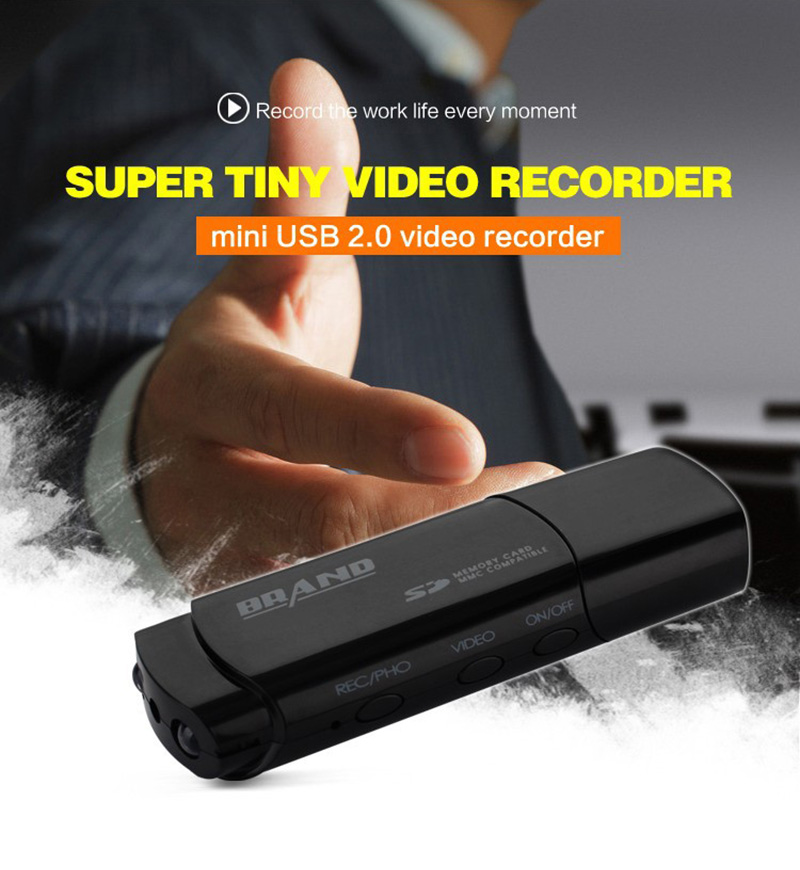 Mini 1080P HD Camera Camcorder Motion Detection Night Vision Cam Mini DV DVR U Disk USB Camera Voice Recorder