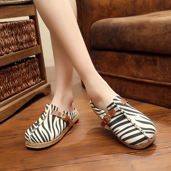 Women Flat Shoes Slip On Outdoor Casual Loafers