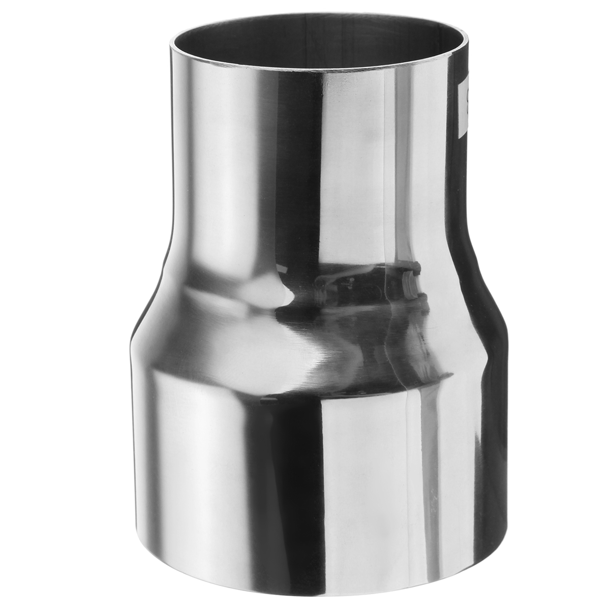 76.2mm to 57.6mm Stainless Exhaust Pipe to Component Adapter Reducer Connector Pipe Tube