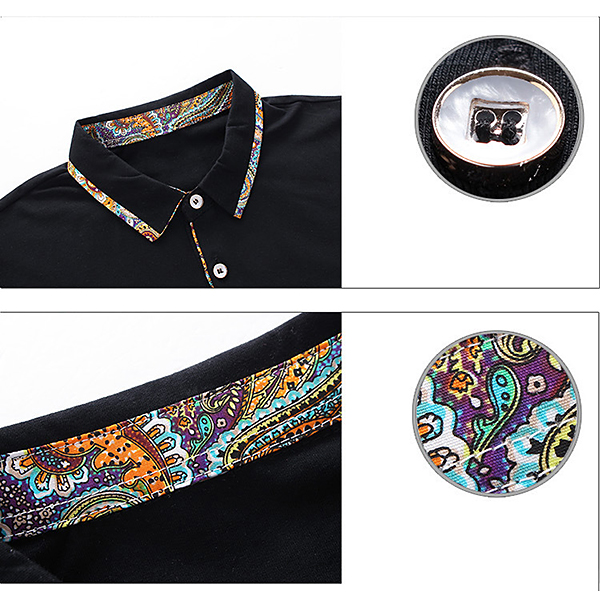 Mens Business Casual Golf Shirt