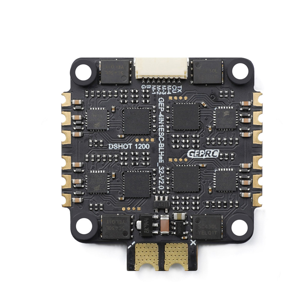 30.5x30.5mm Geprc Span F405 HD Stack F4 Flight Controller AIO OSD BEC & 50A BL_32 3-6S 4in1 ESC Built-in Current Sensor for DJI Air Unit RC Drone FPV Racing