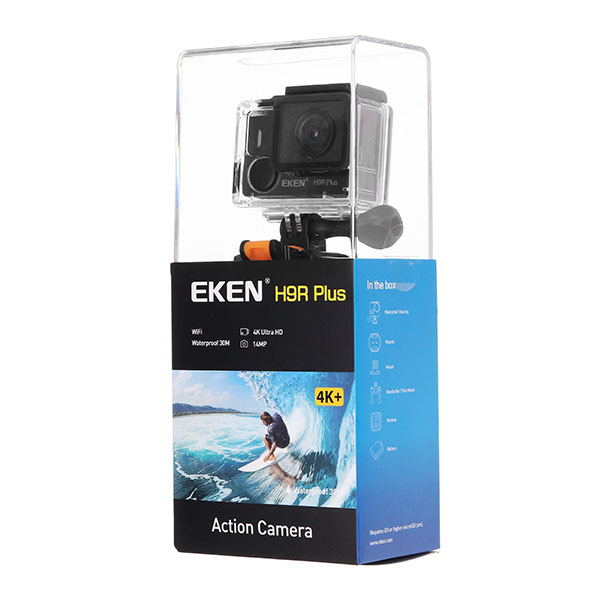 EKEN H9R Plus Action Camera 4K WIFI Sport DV 170 Degree Wide Angle HD Port