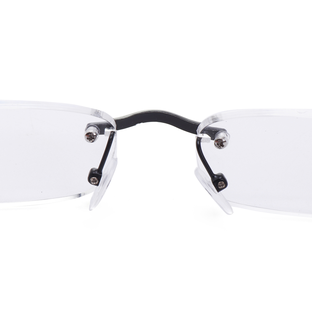 Unisex Lightweight Wooden Frameless Reader Reading Glasses