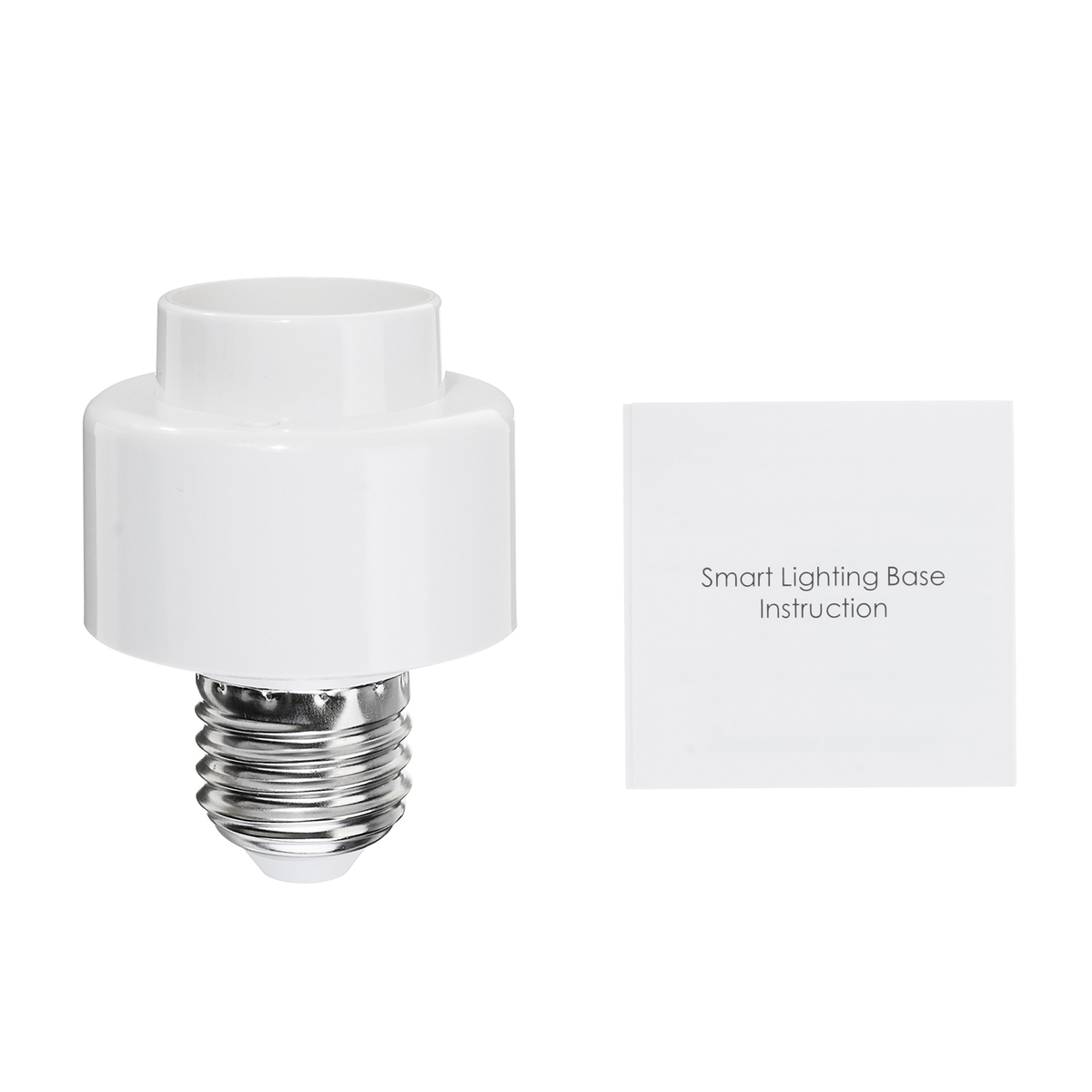 AC100-250V E27 Smart WiFi Light Socket Bulb Adapter Converter work With Alexa Google Home