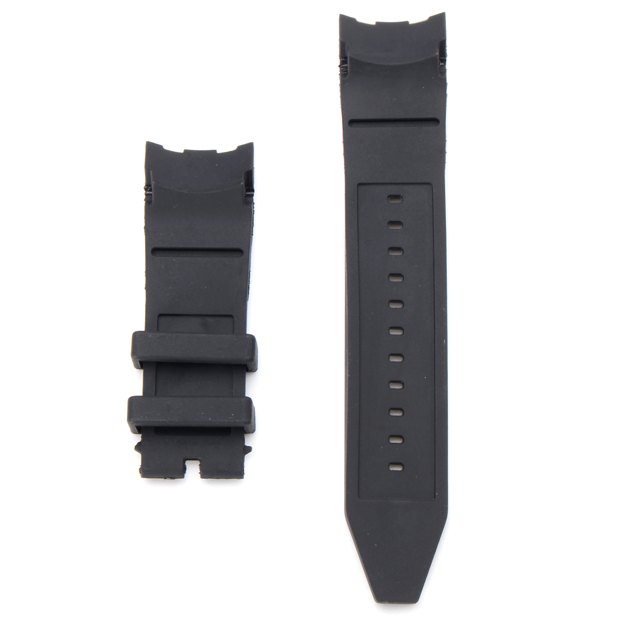 26mm Rubber Black Watch Band Strap For Invicta Pro Diver 6977-6978-6981-6983