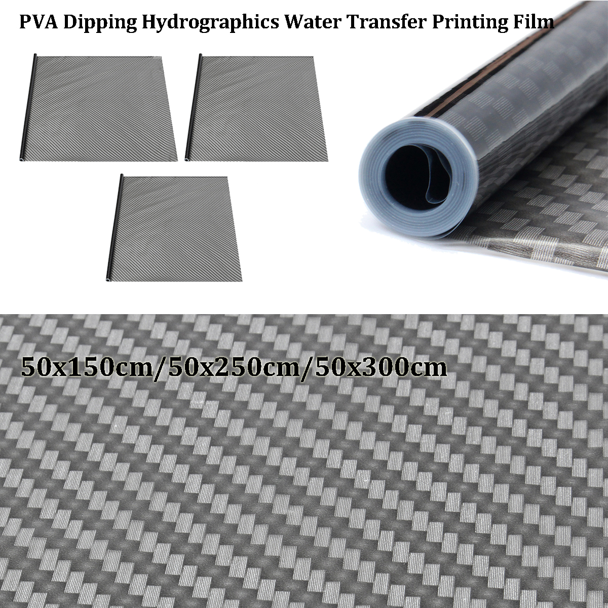 Water Transfer Printing Film Hydrographic Film Hydro Dip Carbon Fiber