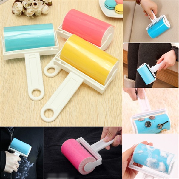 Reusable Washable Sticky Picker Cleaner Lint Roller Pet Hair Remover Brush
