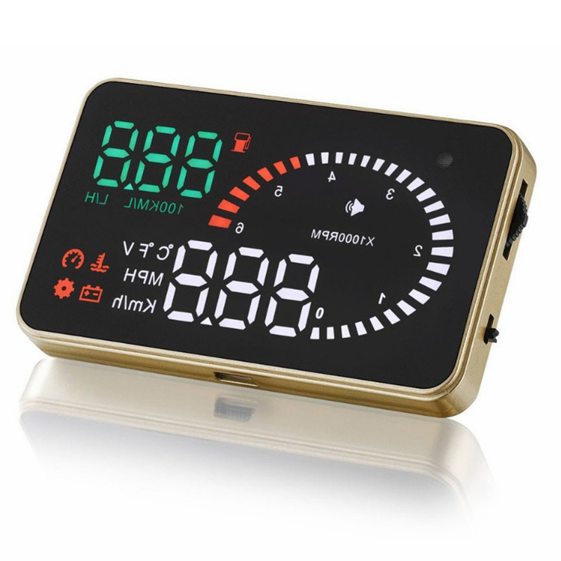 Image of 12V 3 Zoll X6 Auto OBD HUD Projector Head Up Display Auto Warnungssystem Detector