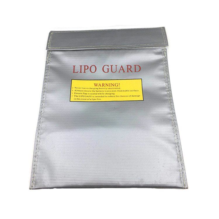 Lipo Battery Safety Bag Fire Retardant Fireproof Explosion Proof Guard 23x18cm 30x23cm