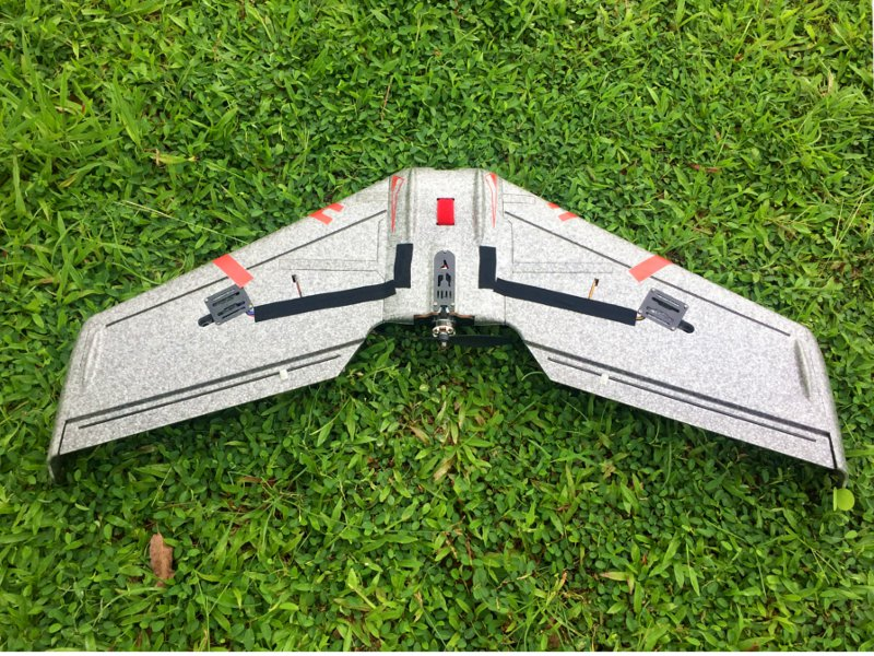 Reptile S800 V2 SKY SHADOW 820mm Wingspan Gray FPV EPP Flying Wing Racer RC Airplane KIT