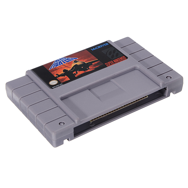 Aero Fighters 16 Bit 46 Pin Game Cartridge Card for SFC SNES NTSC System
