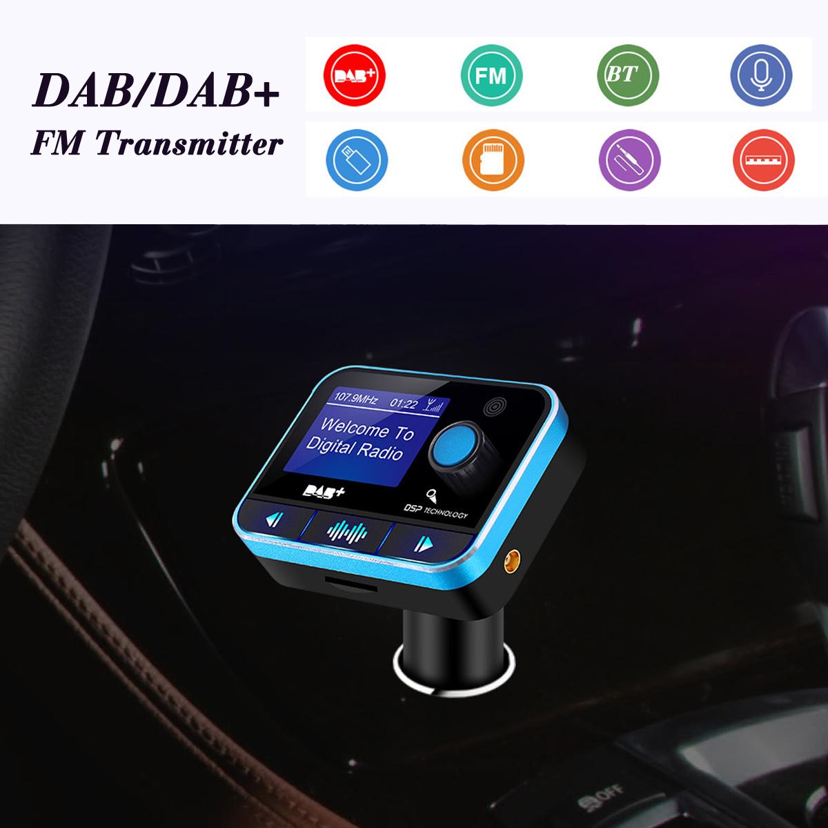 Car bluetooth Handsfree DAB Digital Radio U Disk TF card AUX RDS with USB Charging Port