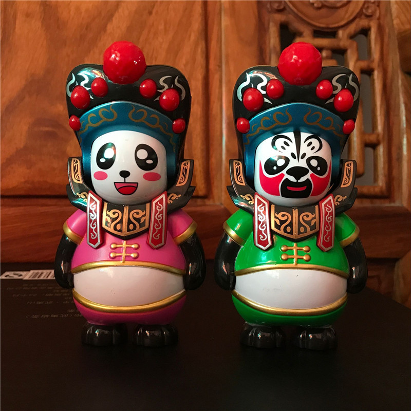 Chinese Sichuan Opera Face Changing Doll Toys Gifts