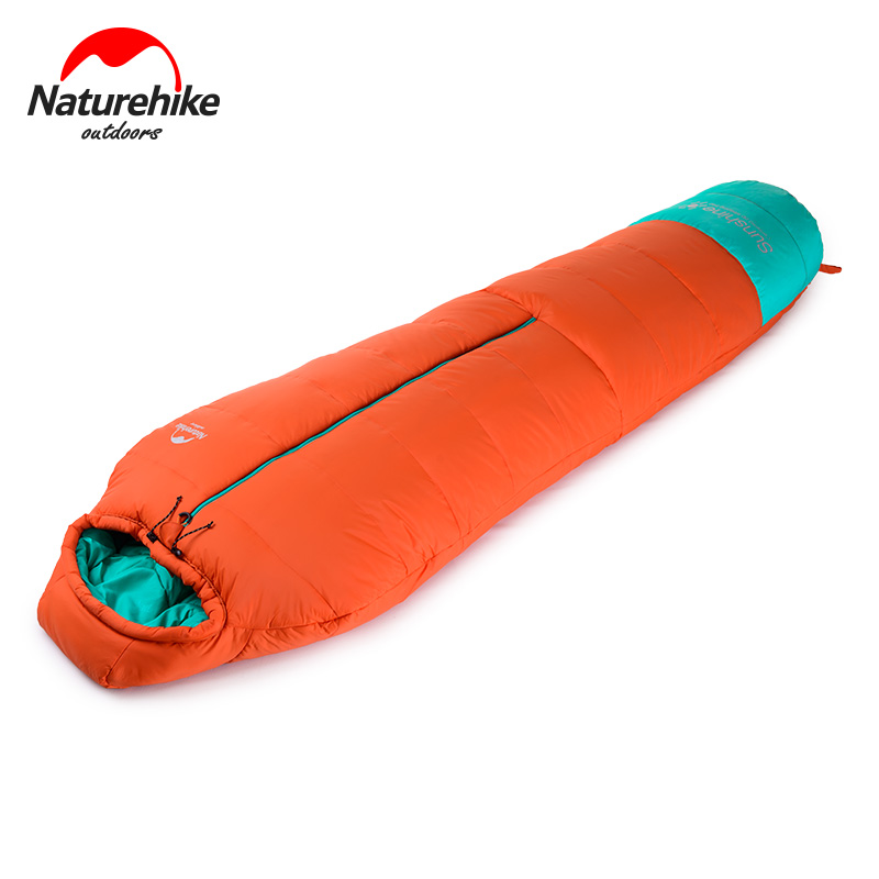 Naturehike 210x80cm 40D Nylon 240T Ployester Single Sleeping Bag Portable Ultralight Outdoor Bedding