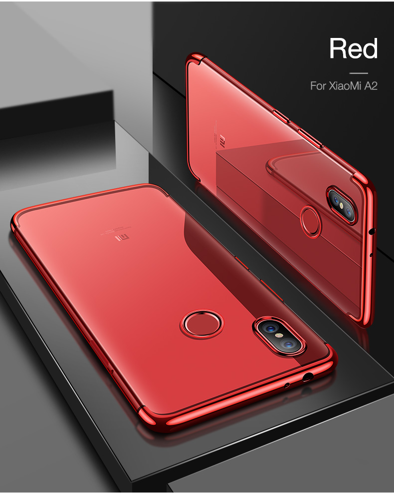 Bakeey Luxury Color Plating Soft TPU Protective Case For Xiaomi Mi A2 / Xiaomi Mi 6X