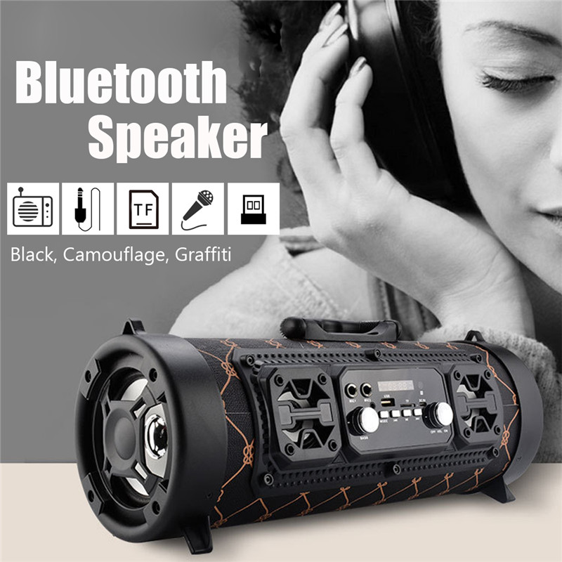 Portable Wireless bluetooth Speaker Support TF Card With Mic For Tablet