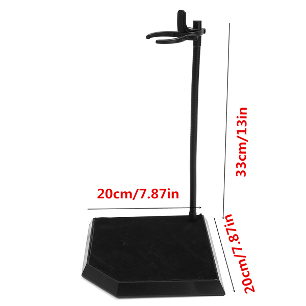 12 Inch Dynamic Model Bracket Stand For 1/6 Scale Hot Toys Action Figure Display