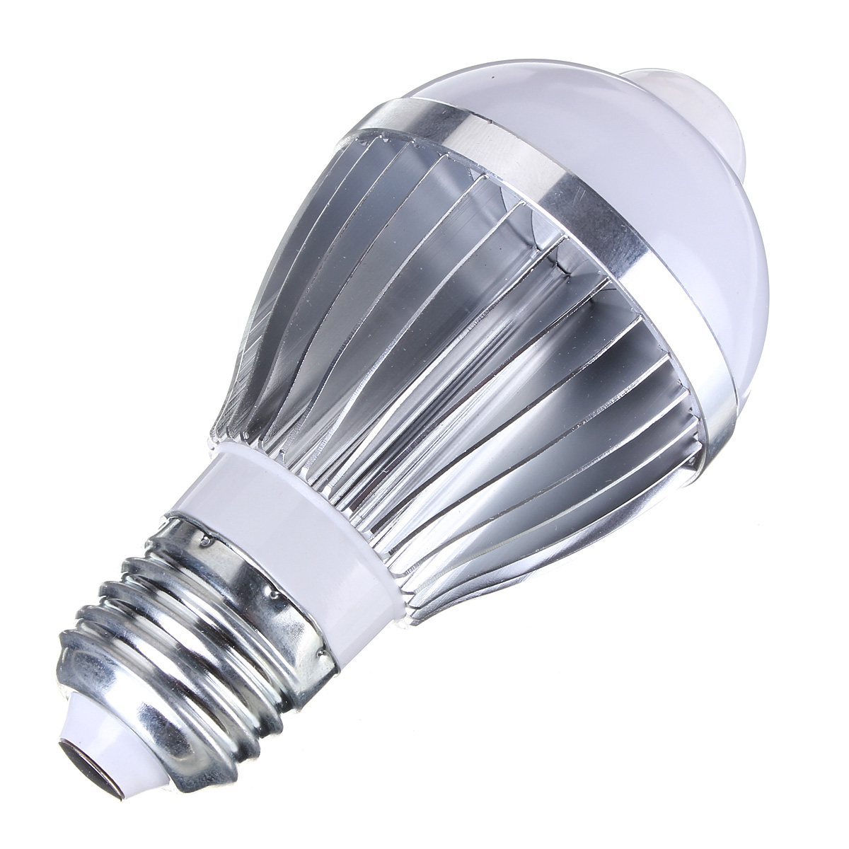 E27 5W Auto PIR Infrared Motion Sensor Detection LED Bulb Lamp 85-265V