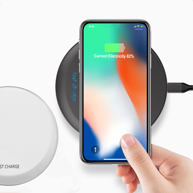 Bakeey 10W Qi Wireless Charger Fast Charging Pad For iphone X 8/8Plus Samsung S9 S8 S7