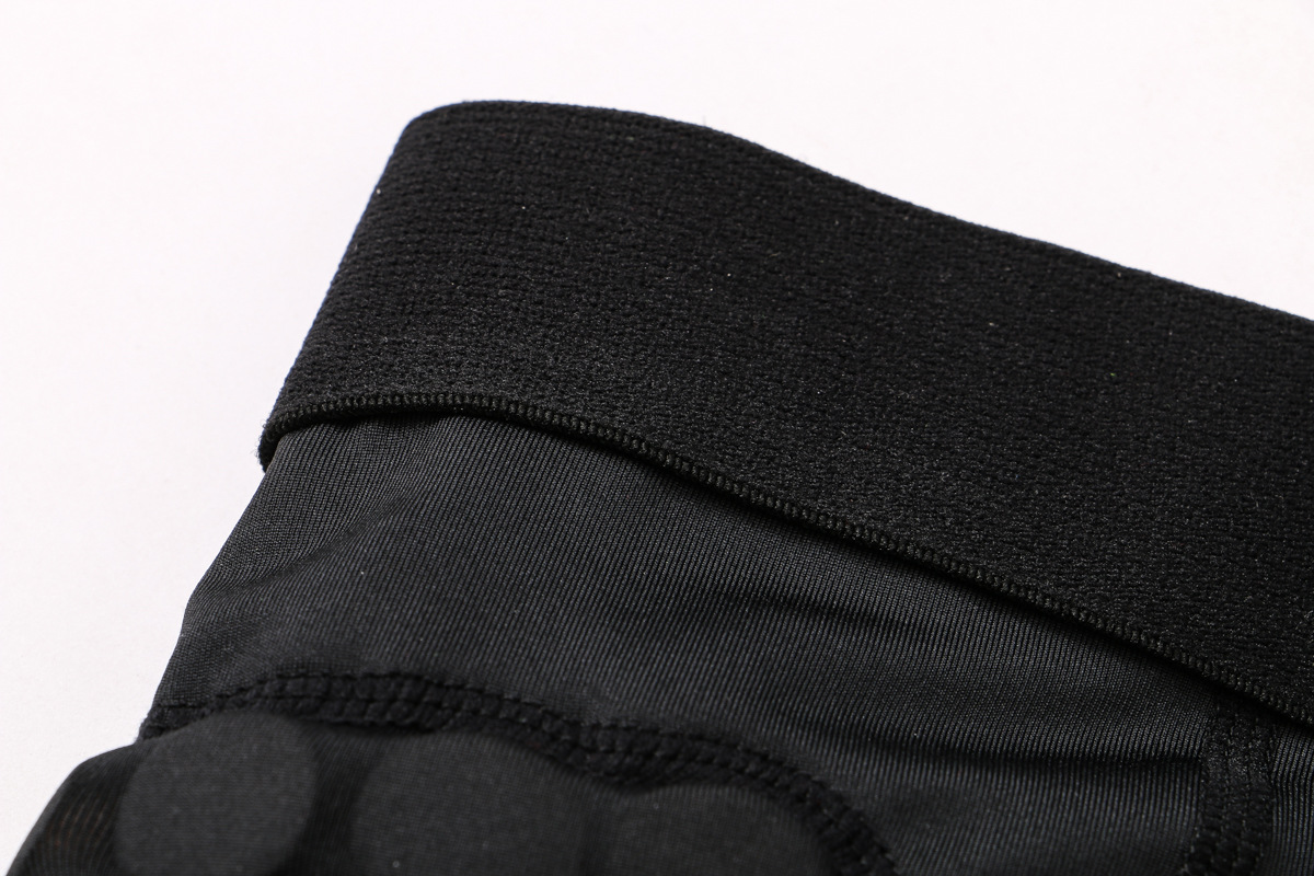 Outdoor Men Pad Compression Shorts Rib Protector Football Paintball